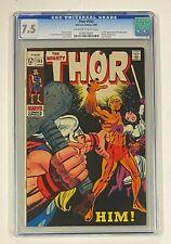THOR #165 Marvel Comics 1969 CGC 7.5 Adam Warlock HIM 1st Full Appearance