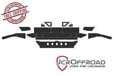 JCR Offroad Front DIY Winch Bumper - Bare Metal - for 07-17 Jeep Wrangler JK JKU