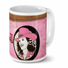 Pretty In Pink, Wicked In Spurs Ceramic Mug