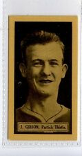 (Jd2753-100)  THOMSON,THIS YEARS TOP FORM FOOTBALLERS,J.D.GIBSON,1927,#11