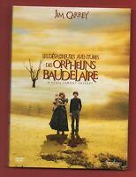 DVD - Les Desastrosa Aventures Des Orphelins Baudelaire de Jim Carrey