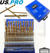 US PRO Tools 51pc Engineers HSS Metric Drill Bits Set 0.1mm increments NEW 2619