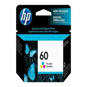 Brand-NEW Expired Genuine HP 60 1xBlack And 1xColour Inkjet Cartridges