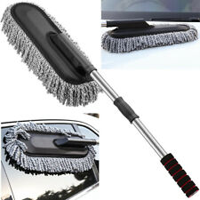 Large Car Cleaning Duster Multipurpose Microfiber Extendable Handle Wash Brush