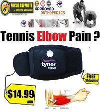 ISO WHO & CE CERTIFIED Adjustable Tennis Elbow Support Brace Strap Band Forearm