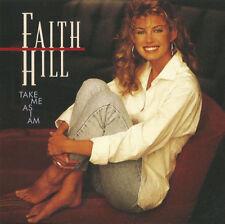 Audio CD - FAITH HILL - Take Me As I Am - USED Very Good (VG) WORLDWIDE