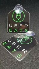 2x UberEats Removable Signs High Quality  Laminated Eats  SIGN