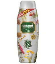 Emami GOLDEN BEAUTY TALC, Alpine Dew French Perfume 400 g, FREE SHIPPING