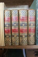 L'ENEIDE - VIRGILE, trad. Jacques DELILLE - 4 vol. ed. Giguet Michaud 1804