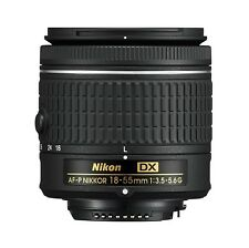Nikon 18 - 55 mm f/3.5-5.6G AF-P DX Nikkor Lens for Camera
