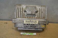 1997 Oldsmobile Achieva Engine Control Unit ECU 16217058 Module 32 11G1
