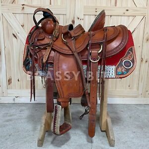 """15"""" Classic Billy Cook Arbuckle Rancher w/Tack"""