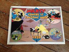 mickey contre le fantôme noir (1989) 1939 hachette BD walt disney côte BDM + 30e