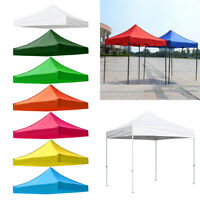 Replacement Canopy Top Cover Patio Tent Sunshade Shelter Rain Tarp Camping