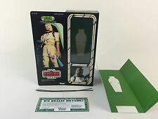 "custom vintage Star wars esb 12"" bossk bounty hunter box + inserts"