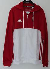 TOPANGEBOT: Adidas T16 Herren Hoody, Jacke rot/weiß , mit Kapuze, Tennis