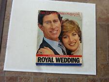 CHARLES & DIANA The SUNDAY TIMES MAGAZINE ROYAL WEDDING 2 AUGUST 1981