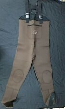 Stearns Rubber Polyester Mens Stocking Foot Chest Waders Medium Brown