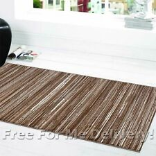 SOHO LINES SQUARES TEAL BLUE MODERN FLOOR RUG RUNNER 80x300cm **FREE DELIVERY**