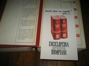 Enciclopedia pratica Bompiani in due volumi – Milano, 1938-1949