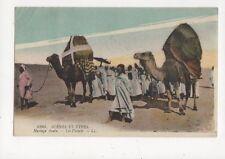 Scenes Et Types Mariage Arabe Les Fiances North Africa Vintage LL Postcard 420a
