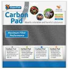 Aquarium Carbon Filter Pad Superfish Media Remove Toxins 45 X 25cm Cut to Size