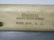 RUSSELL GREEN RIVER WORKS SCRAPER BLADE WITH HANDLE