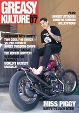 Greasy Kulture Magazine Issue 7 Harley Triumph Sportster Panhead iron XS650 GKM