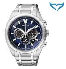 Citizen Super Titanium Chrono Herren Armbanduhr CA4010-58L Saphir Eco-Drive NEU