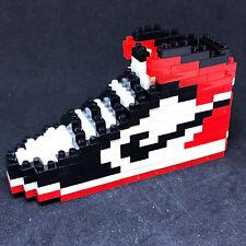 Air Jordan 1 I Retro Black Toe Union Sneakers Shoe Lego Building Blocks Bricks