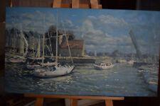 Russian oil canvas Impressionism Paris Landscape Demidov Alexander п-18