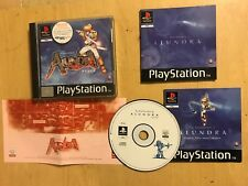 PS1 PLAYSTATION 1 PSone THE ADVENTURES OF ALUNDRA +BOX INSTRUCTIONS MAP TIPS PAL