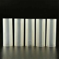 10Pcs Plastic 18650 Battery Holder Tube For Flashlight Torch Lamp Light 6.15cm