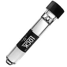 """3x Lock N Load Glass Chillum w/ Cap One Hit 9mm 3"""" (p688)"""