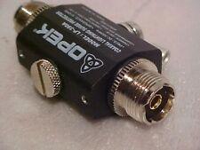 Opek LP-350a Lightning static Surge Protector Cb ham Radio Antenna 50 Ohm