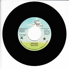DAVE RICH King Jesus VG(+) 45 RPM