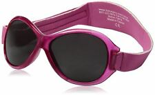 Babybanz Retro Oval Sunglasses - Pink Sun Kids