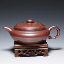 OldZiSha-Unique China Yixing Zisha  250cc Teapot By Master Gu JingZhou,1950'