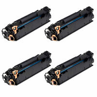 Set of 4 pack Canon 128 Compatible Toner For ImageClass D550, MF4450, MF4570