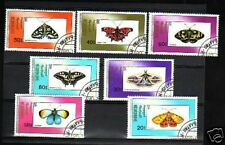 1908++MONGOLIE  SERIE TIMBRES  PAPILLONS  1990