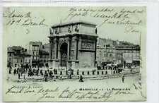 (Gp625-402) La Porte d'Aix, MARSEILLE, France 1900 Used VG