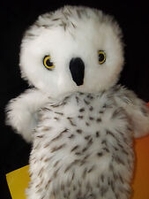 """Build A Bear Workshop Hunter The Spotted Snow Owl 15"""" Plush Toy GUC"""
