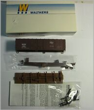 Walthers 932-3211 Ho Scale 40' Plug Door Box Car Kit Milwaukee Nos