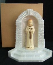 Vintage Catholic SHRINE Child Jesus w/ Chalice statue 1st Holy Communion