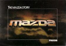 The Mazda Story Design & Development 1980-81 UK Market Foldout Sales Brochure