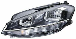 Hella Left Headlamp 1LB 013 924-031 fits VW GOLF ALLTRACK VII Variant BA5, BV5