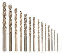 RUKO, Drill Bits HSS, Size 1.0 - 13.0mm, HSS-Ground, ALL SIZES, Made in Germany