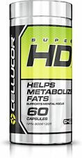 Cellucor SuperHD Thermogenic Fat Burner Supplement for Weight Loss, 60 Capsules