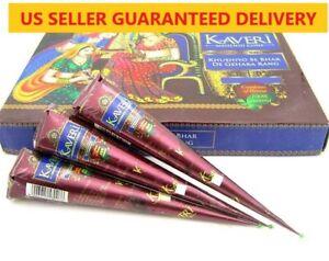 US SELLER Kaveri Henna Cones Temporary Tattoo Mehandi Ink FAUX FRECKLES Choose Q