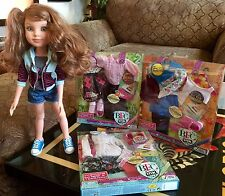 BFC Ink Addison Jointed Girl Doll by MGA With Three New Doll Outfits Lot Sale
